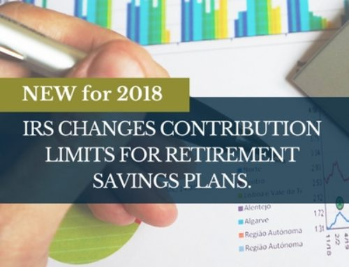 IRS Contribution Limit Changes for 2018