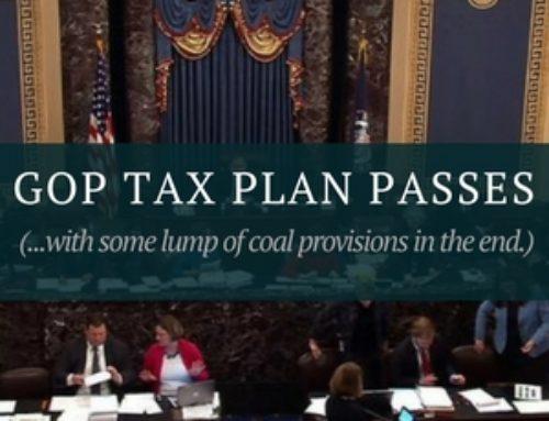 GOP Tax Bill Passes