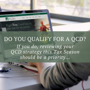 Do you qualify to utilize a QCD?