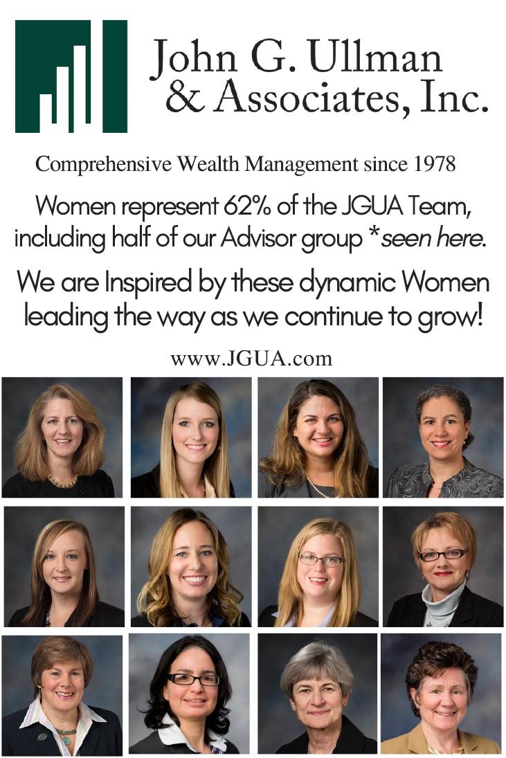 Fund For Women Event Program | John G  Ullman & Associates