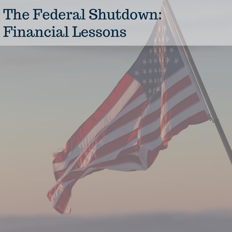 The Federal Shutdown: Financial Lessons