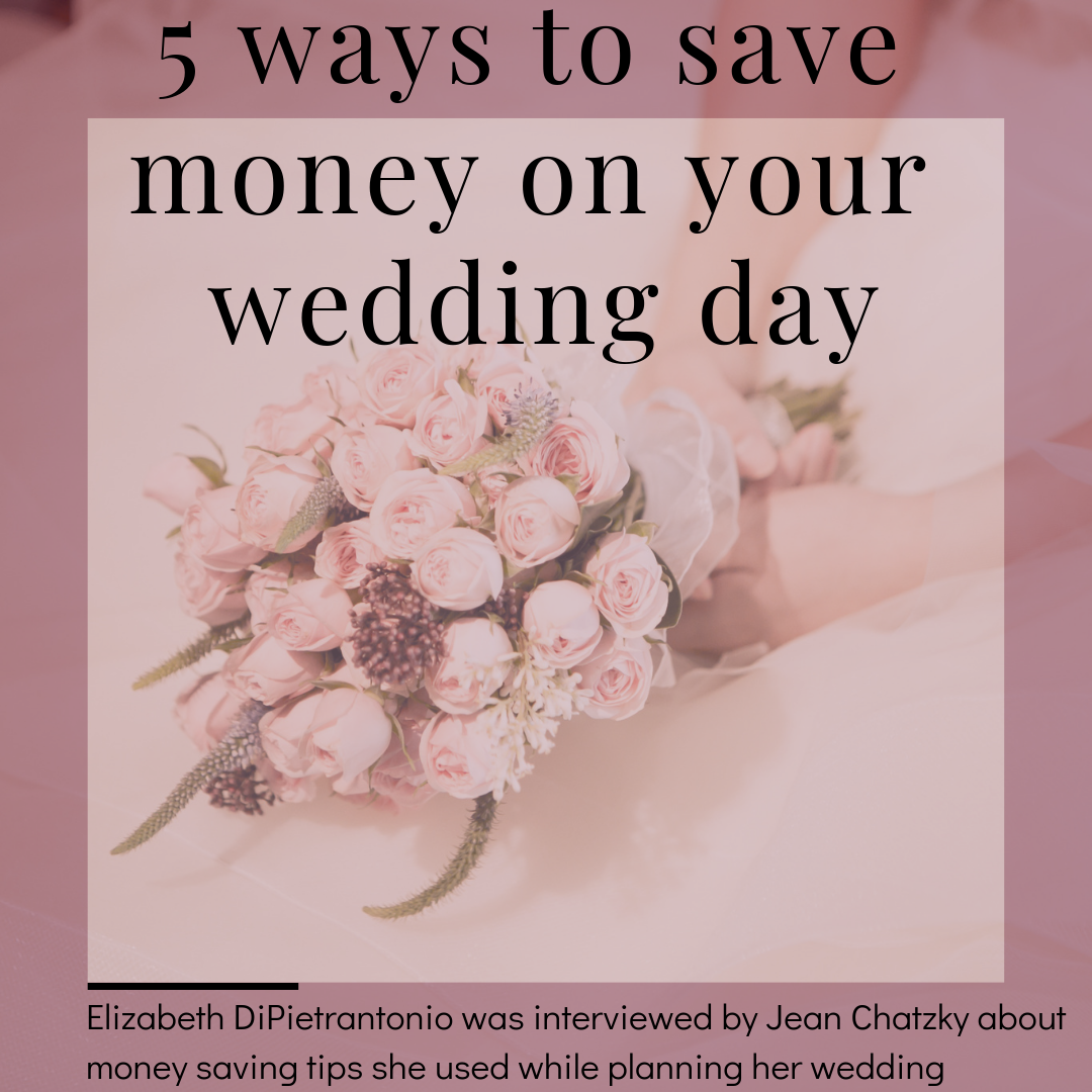 5 Ways to Save Money on Your Wedding Day