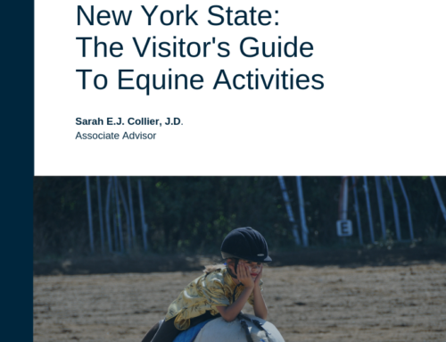 """Being In the Know"" as a Visitor to Equine Facilities in New York State"