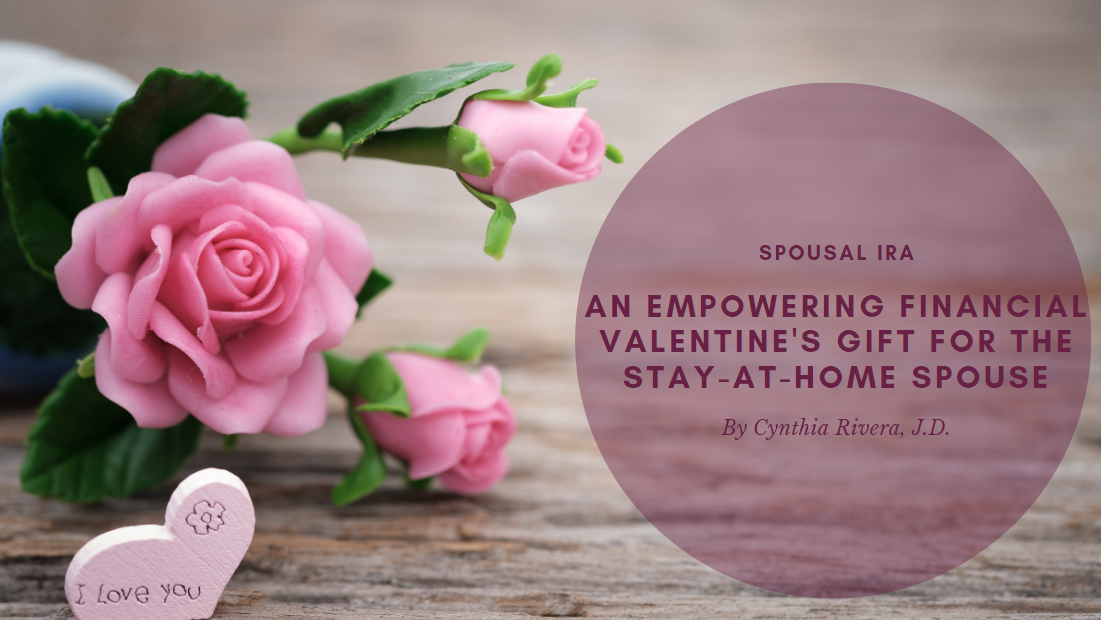 An Empowering Financial Valentine's Gift for the Stay-at-Home Spouse
