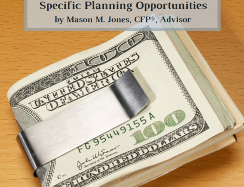 Breaking Down the CARES Act – Specific Planning Opportunities