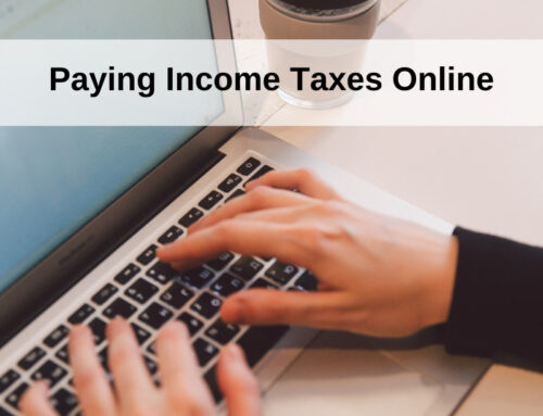 Paying Income Taxes Online